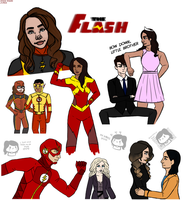 FLASH fam + SketchDump by JimTigerLily