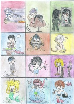 Death Note Horoscope - Better Version by IasminGloom