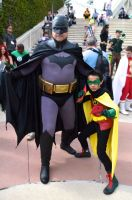 The Detective and his little Assassin. by FloresFabrications
