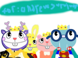 Happy Tree Friends Royalty For Andrewsurvivor by irfandy-simpson