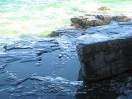 Waves and Rocks by Tya226148