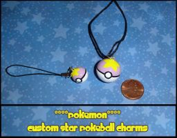 Pokemon - Custom Star Pokeball by YellerCrakka