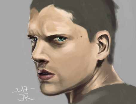 Study: Michael Scofield by ChildHoodSurvivor