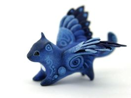 Winged kitty by hontor