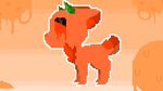 Orange Crush Pixel Art by Mint-KitKat
