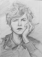 bowie sketch by monkos