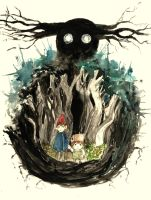 Over The Garden Wall by lostConciousness