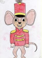 Timothy Q. Mouse from Dumbo by PearlTheKitty2012