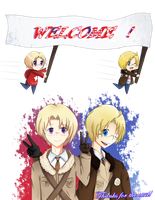 Welcome ! +Deviant ID+ by naomithecat1