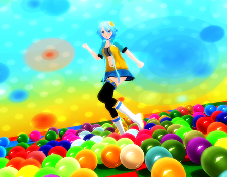Gumball Candy Stage by Arleedraw