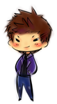 Supernatural-Chibi dean by crocell