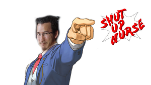 Ace Attorney Markiplier by KristianTheTiragon