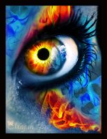 Fire Eye V2 by MEGAN-Yrrbby