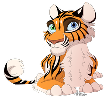 Tiger Cub by Thealess