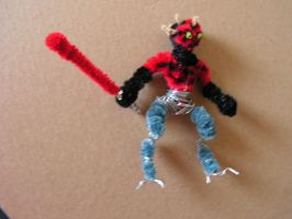Darth Maul 'Clone wars' by fuzzyfigureguy