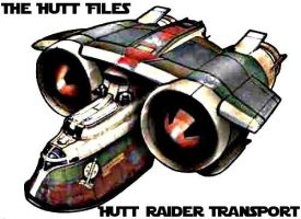 Hutt Files : Raider Transport by ZiroTheHutt