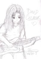 David Gilmour by little-ampharos