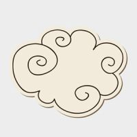 Free Vector of the Day #155: Doodle Cloud by cristina012