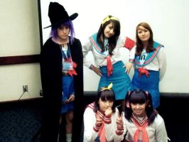 SOS Brigade And Lucky Star by Siyome