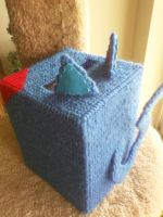 Pook Kleenex Cover - Tail and Ears by AprilMoonshine