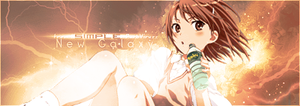 Misaka Mikoto ''New Galaxy'' by MsSimple