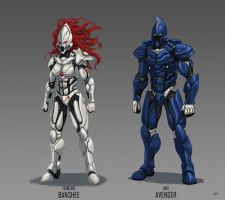 nanosuit banshee by thevampiredio