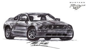 All American Muscle Machine by toyonda