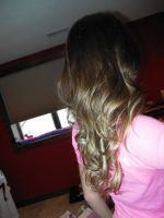 Ombre Curls by allikayyyy