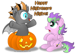 Commission:  Happy Nightmare Night! by AleximusPrime