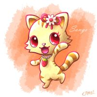 AT: Jewelpet Sango-nyan! by CRAZ1