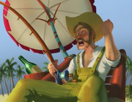 Salty Guthree the Angry Fisherman! - WoW by Psichodelic