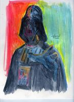 Darth Vader painted by StevenWilcox