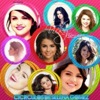 Circle Selena Gomez by VickyEditions