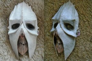 Mask of evil XD detail by Zzoha