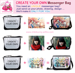 CREATE YOUR OWN messenger bag by tho-be