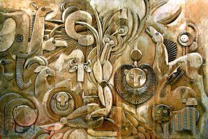 Norman Gorbaty - Creation of Eve by QCC-Art