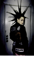 Spikey Hair by punkcore89