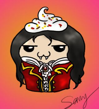 Mael as a Cupcake by Captain-Savvy