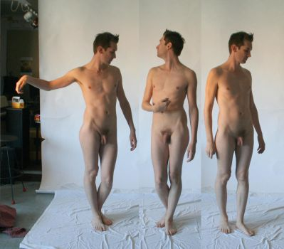 Naked Male Stock by TheMaleNudeStock