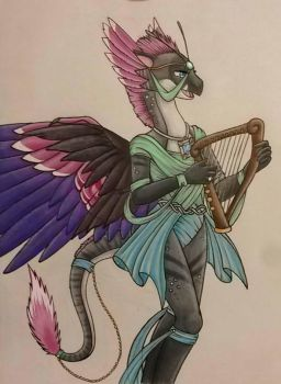 Playing a Song for You by KarneTia