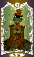 The Fool - Skull Kid by Sirens-of-Rose
