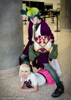 Ao No Exorcist - Unlikely Duo by Taymeho