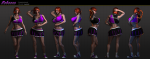 Rebecca Character Sheet 2012 by grico316