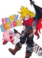 Cloud Birthday by dark-ishida-lover