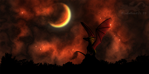 Against A Blood Red Sky by bladebandit