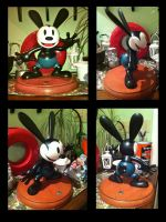 Oswald 85th Anniversary Statue by Aqua-Melody101
