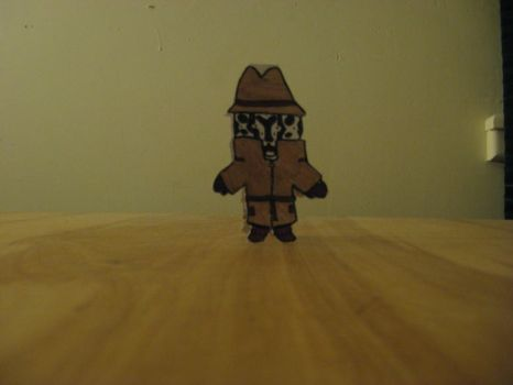 Rorshach, Paper Man by pwii42