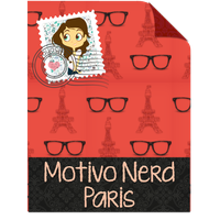 Motivo Nerd Paris by Payasiita