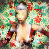 Christmas Avatar: Kat by Meilandt