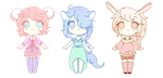 #2 Pastel Adoptables  [O P E N ] by Melepe